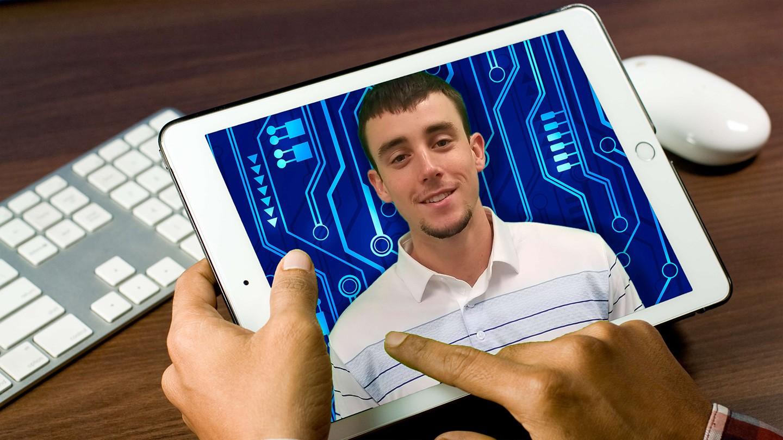 Brandon Smith on iPad
