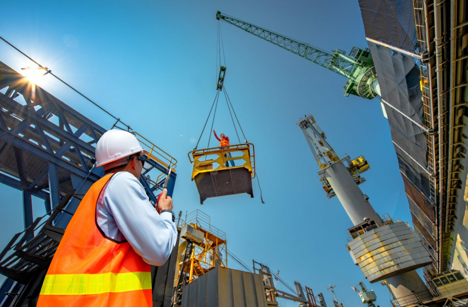 Construction Firm Receiving IT Consulting Services In Florida