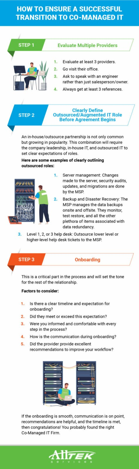 Transitioning to a Co-Managed IT Provider
