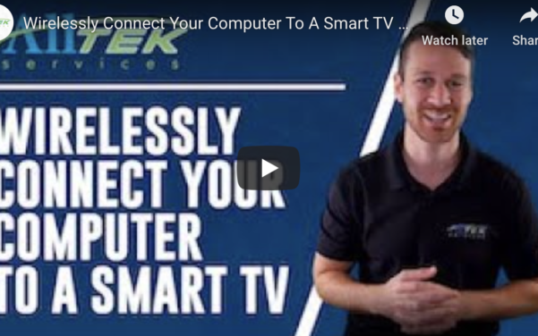 Connect Computer to Smart TV
