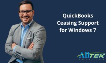 QuickBooks Ceasing Support for WIndows 7